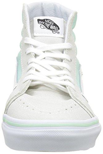 Vans Damen UA Sk8-Hi Slim Hohe Sneakers Grün (Bay/true White)