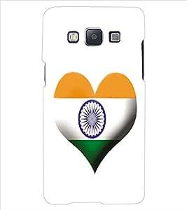 ColourCraft Indian Flag Back Case Cover for SAMSUNG GALAXY E7
