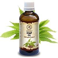 Hanföl 100ml - Cannabis Sativa Seed Oil - Kaltgepresst - 100% Reines & Natürlich - Glasflasche - Hanf Öl - Basisöl... preisvergleich bei billige-tabletten.eu