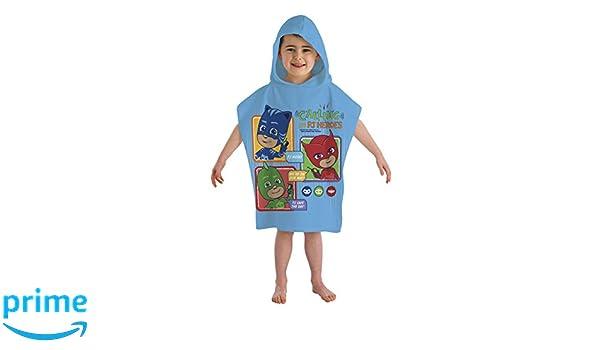 PJ Masques Gekko Enfants Coton Poncho