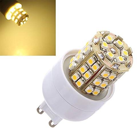 Sonline G9 48 SMD LED 210L 3.5W Blanc chaud lumiere Spot Lampe ampoule 110-240V