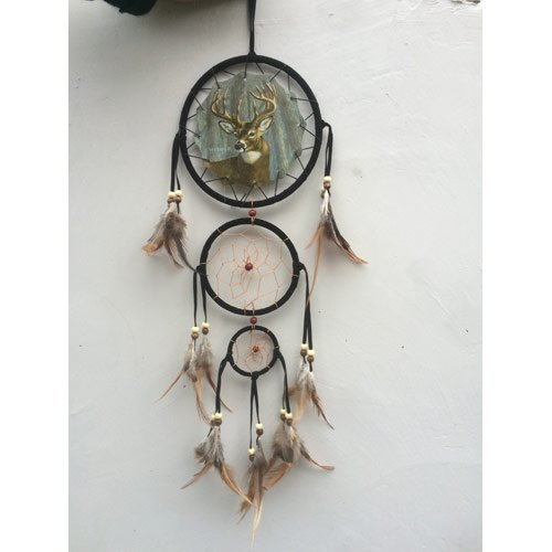 20-long-forest-deer-buck-nature-dream-catcher-by-back-to-earth