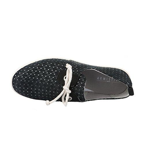Armistice Stone One W Block Caoutchouc Noir, Sneaker Donna Nero