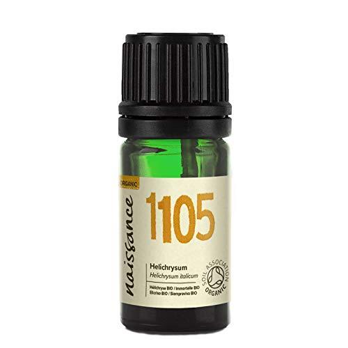 Naissance Olio di Elicriso (Immortelle) Biologico - Olio Essenziale Puro al 100% - 2ml