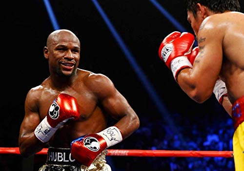 Generic Floyd Mayweather Vs. Manny Pacquiao Box Plakat 11158 (A3-A4-A5) - A5