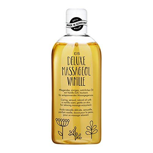 Deluxe Massageöl von EIS | Erotisches Massage Öl | Vanille Aroma | 250 ml