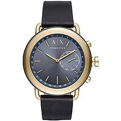 Armani Exchange Reloj Analogico para Hombre de Cuarzo con Correa en Cuero AXT1023
