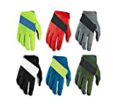 KnBoB Handschuhe Motorrad Enduro Herren Handschuhe Fahrrad Sommer Handschuhe Atmungsaktiv Grün S
