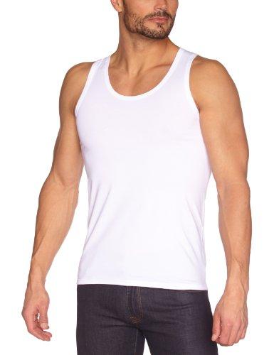 Eminence Herren Unterhemd, Uni, Weiß (Blanc), 4 (Herstellergröße: 4) Preisvergleich