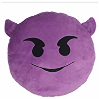 GOOTRADES 30cm Emoji Smiley Emoticon Yellow Round Cushion Pillow Stuffed Plush Soft Toy