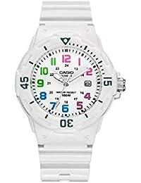 4a66bddfa2ec Casio Reloj Analógico para Mujer de japonés con Correa en Resina LRW200H7B