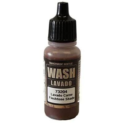 WWG Vallejo Paint Game Color Wash Fleshtone Shade 73.204 - Wargame Miniature