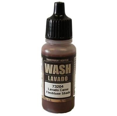 WWG Vallejo Paint Game Color Wash Fleshtone Shade 73.204 - Wargame Miniature
