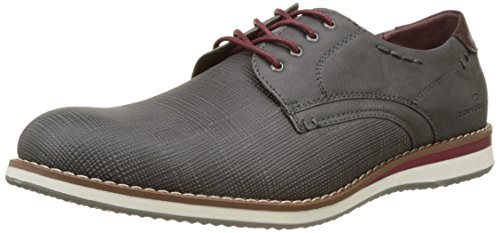 Tom Tailor 2782001, Derbys Homme Gris (coal)