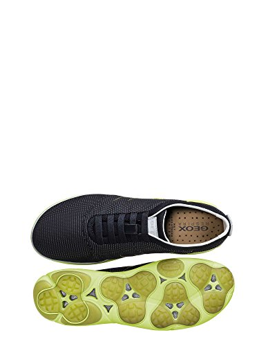 U62d7h Man Noir Sneakers 00014 Rnxof1 Geox IwwHxP4