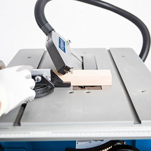 Scheppach Tischkreissäge 250-er Set, 230 V, 2000 W mit 2 Tischverbreitungen und Untergestell, HS100STVB - 3