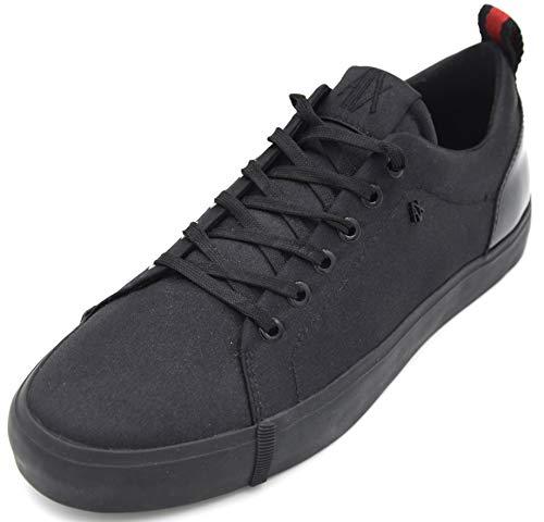 Armani Exchange Damen Turnschuhe Freizeitschuhe Sneaker Casual Art. XDX003 XV036 39 EU - 8M USA - 6 UK Nero Black