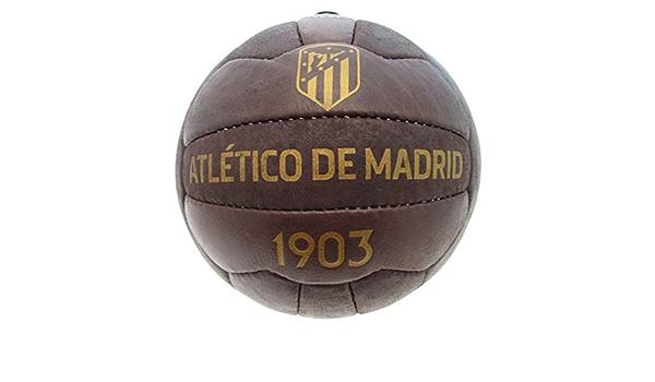 ATLETICO MADRID Ballon Officiel ATM Vintage Effet Antique 1903 Taille 5