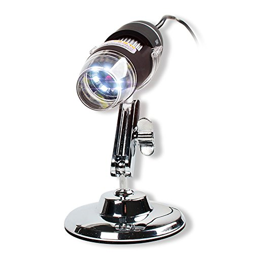 Liegestuhl 200 × Microscope Super High Clarity Magnifier, Use for Science Experiments &...