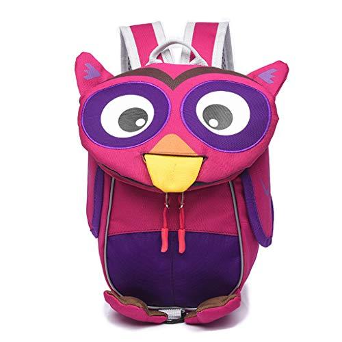Viesky Baby Kinder Kleinkind Rucksack Pack Eule Kleintier Schulter Cartoon Schultasche