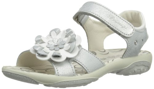 Primigi ITACA, Scarpe con cinturino alla caviglia bambina, Argento (Silber (ARGENTO)), 25