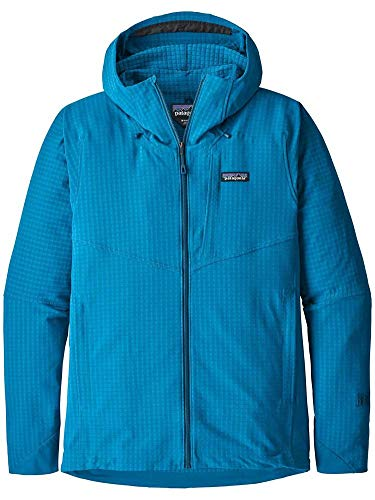 Patagonia Herren Fleecejacke R1 Techface Hooded Fleece Jacket (Patagonia-hooded Fleece)