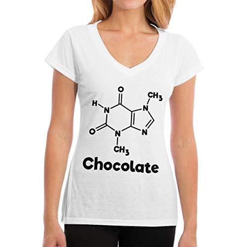 Playeras Chocolate Molecule Chemistry Science Womens