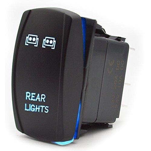 Interruptor de Palanca encendido / apagado 5 Pines luz trasera para el...