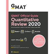 GMAT Official Guide Quantitative Review 2020: Book + Online
