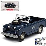 Wiking Land Rover Serie I Cabrio Blau Royal Airforce Grau 1948 H0 1/87 Modell Auto mit individiuellem Wunschkennzeichen