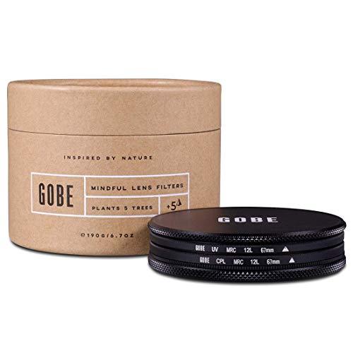 Gobe Filter Kit 67mm MRC 12-Lagig: UV + CPL-Polarisator
