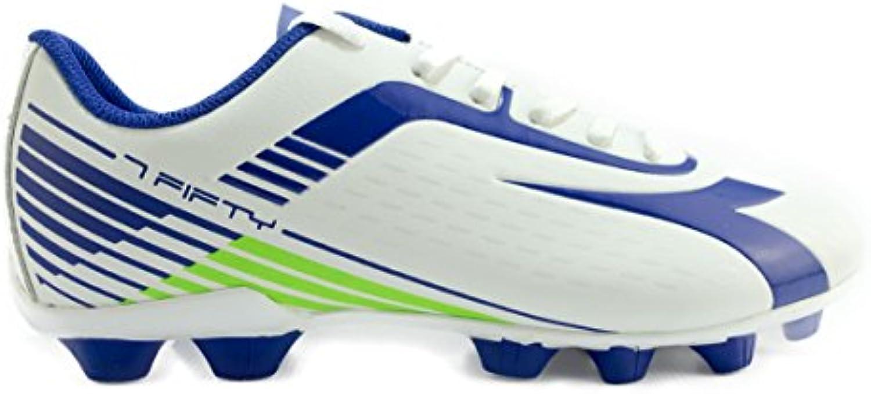 Diadora - Botas de fútbol para hombre Bianco/BluOltremare 39