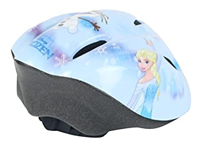 Widek Girl Disney Frozen Bicycle Safety Helmet 50-56cm, Baby Blue, Medium by Widek
