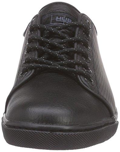Hub Otsu L Perf, Baskets femme Noir - Schwarz (black/blk 031)