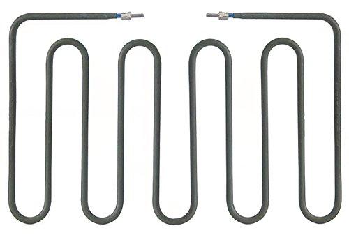Sirman - Radiador para parrilla de contacto (875 W, 230 V, 190 mm de largo, 308 mm de ancho, 18 mm de altura, conexión M4, longitud de conexión: 24 mm, B1 108 mm)