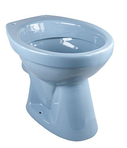 Cornat Farbklassiker Tiefspül-WC, universal, Nostalgiefarbe: Bermuda