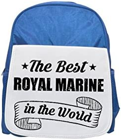 THE BEST BEST BEST Royal Marine IN THE WORLD printed kid's Bleu  backpack, Cute backpacks, cute small backpacks, cute Noir  backpack, cool Noir  backpack, fashion backpacks, large fashion backpacks, Noir  fashio | Soyez Bienvenus En Cours D'utilisation