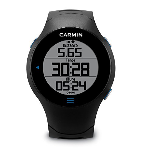 Garmin Forerunner 610 GPS-Laufuhr (Geschwindigkeits-/Streckenmessung, Touchscreen Bedienung)