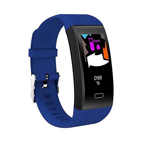 Wysgvazgv Fitness-Tracker, Schrittzähler, wasserdicht, IP68, Herzfrequenz, Schlafüberwachung, Blutdruck, SMS, Anruf, Alarm, Farbdisplay, Smart-Armband für iOS, Android, iPhone, Frau und Mann Pink Iphone Alarm