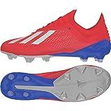 adidas Performance X 18.1 FG Fußballschuh Herren rot/Silber, 10 UK - 44 2/3 EU - 10.5 US
