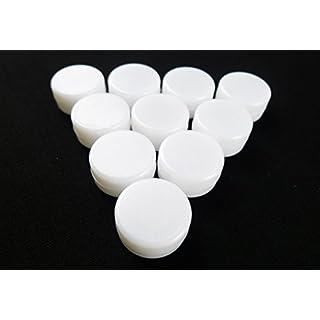 10 x Rasseldosen zum Einnähen in Babyspielzeug oder Katzenspielzeug, Rasseldosen, 22 mm