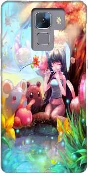 Coque Huawei Honor 7 rigide motif Charmeuse Manga de protection et personnalisation - Mobilinnov