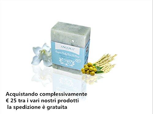 Sapone BIO Baby Fiori di Riso 100g Prodotto Italiano lavorazione artigianale a temperatura bassa