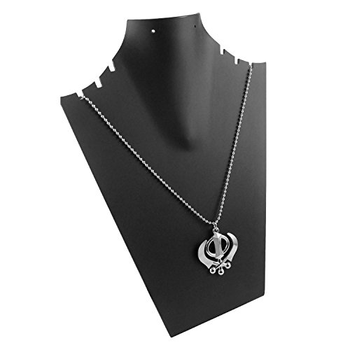 eshoppee khanda / khalsa locket for men and women sardars