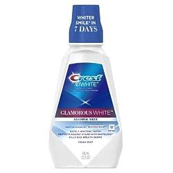 Crest 3D White Glamorous White Mouthwash, 32 Oz