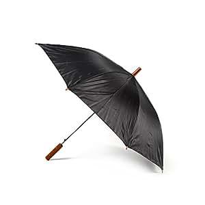 Black Plain Jollybrolly Umbrella