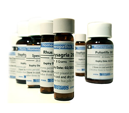 Homeopathy/Homeopathic Remedy/Medicine 30c - Staphysagria