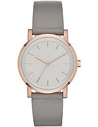 DKNY Soho – Reloj de pulsera analógico para mujer cuarzo piel ny2341