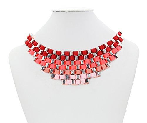 calonice-amorino-da-donna-gioielleria-pezzo-da-esposizione-sfumature-collana-multicolore-colori-arco