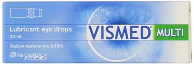 Vismed Lubricant Eye Drops Multi Dose Bottle 10ml by Trb Chemedica UK Ltd